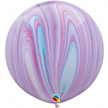 Giant SuperAgate Balloons - Fashion (30 Inch) 2pcs